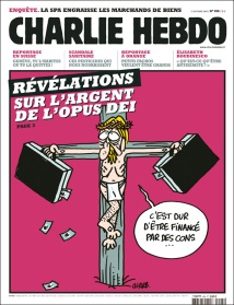 Cathophobie de Charlie Hebdo