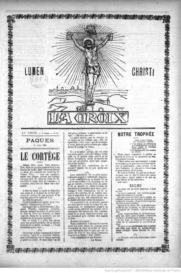 La Croix  Image note