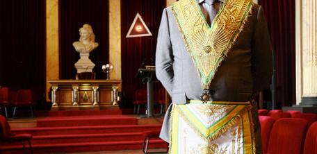 Pierre Lambicchi, grand maitre du Grand Orient de France