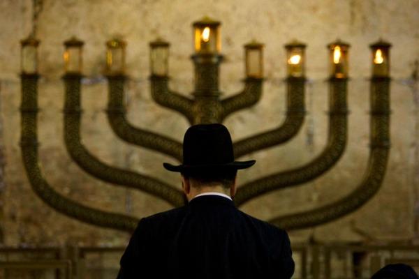 APTOPIX MIDEAST ISRAEL PALESTINIANS HANUKKAH