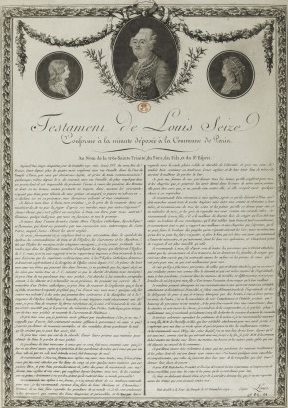 Louis-XVI testament