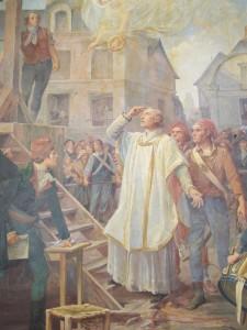 Prêtre guillotine