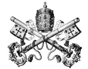 Rome Tiare et clés